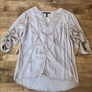 BCBG Max Azria silk top